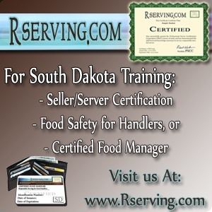 South Dakota Alcohol Seller and Server Certification